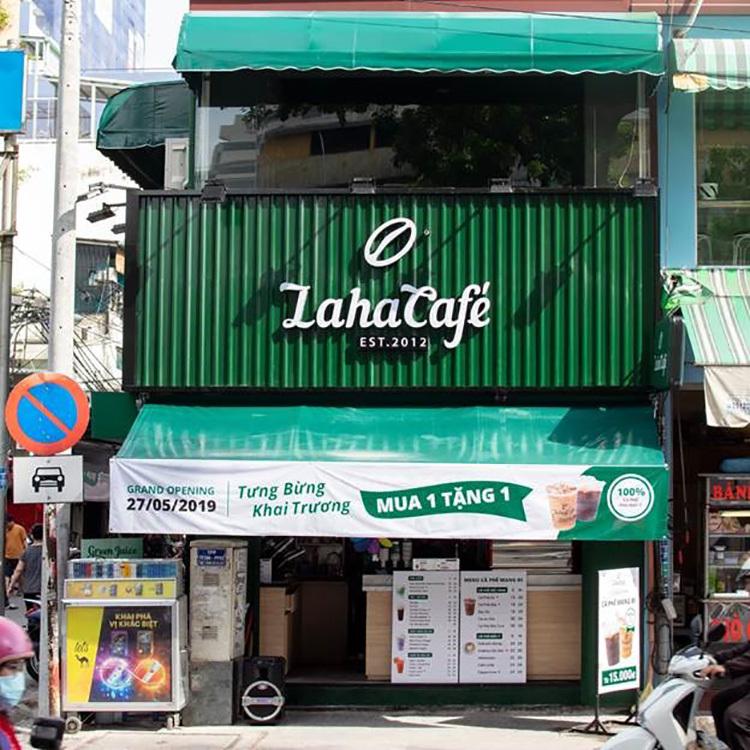Ông chủ Laha Cafe mang xe đẩy đi làm nhượng quyền